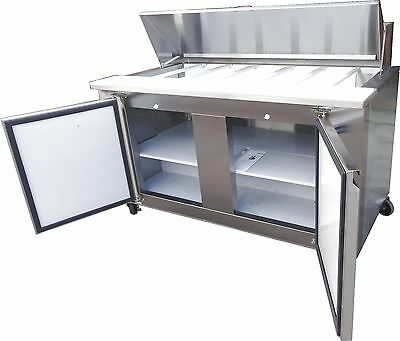 Coolman Commercial Refrigerated Sandwich Prep Table 48