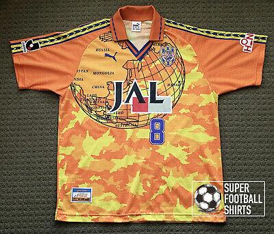 Shimizu S-Pulse 1999/01 - Home - #8 Alex ( match worn ) - Puma Jersey  image