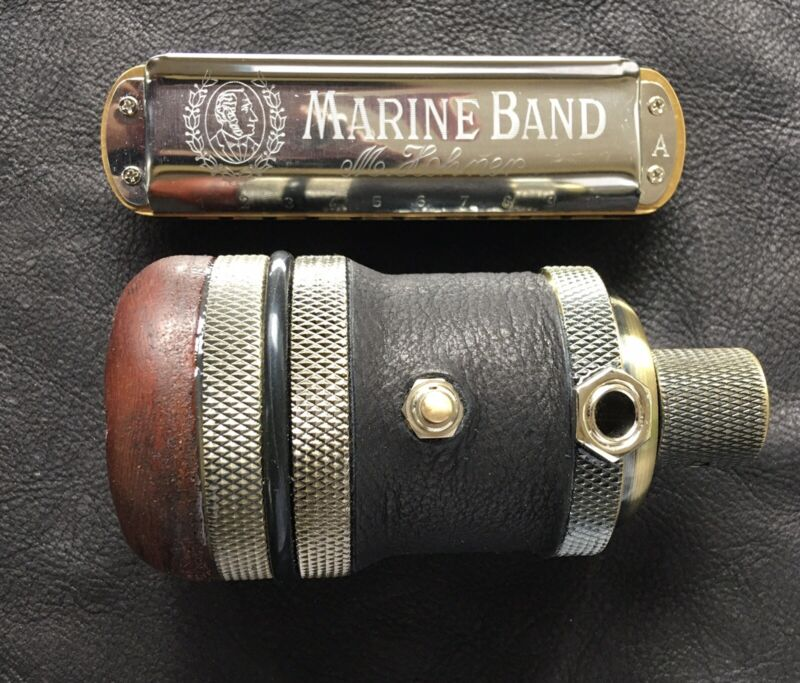 Harmonica Microphone  - Silverfish Switchable Clean/Dirty