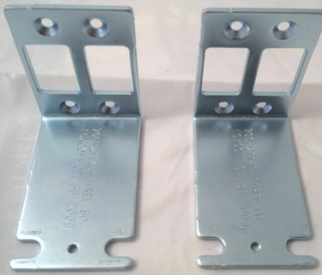Cisco 1841 Rackmount (Rack Mount) Brackets or Ears with Screws for CCNA CCIE Lab