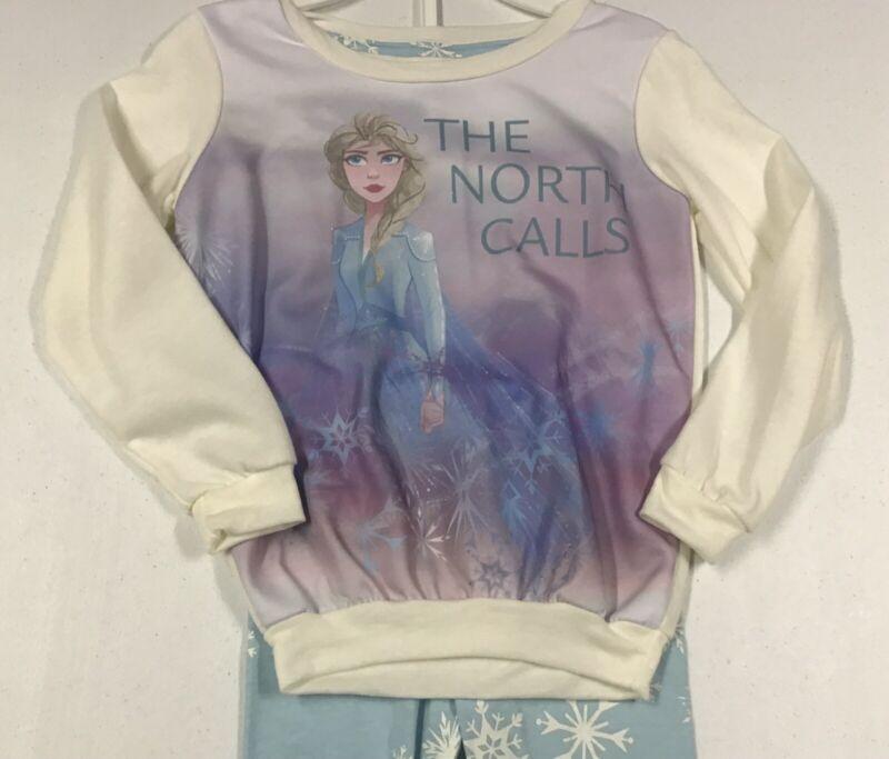 Disney Frozen Girls 2pc Leggings & Sweatshirt Outfit  Size 5/6 NWT