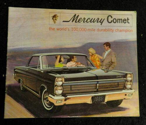 1965 MERCURY COMET SALES BROCHURE