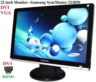 syncmaster 223bw native resolution for 1080p