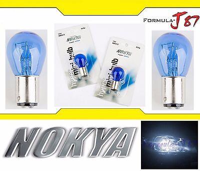 Nokya Light 1157 White 35/5W Nok5212 Two Bulbs Stop Brake Replacement Stock OE