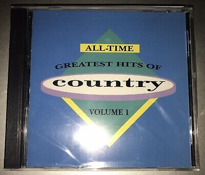 All-Time Greatest Hits of Country Vol. 1 - Various  New CD 1991  Hank Jr. (Country Music Greatest Hits Of All Time)