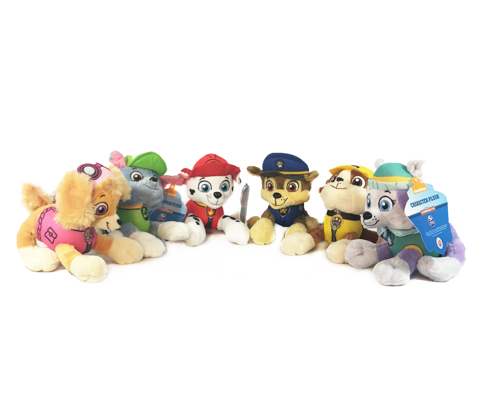 "New 6"" Paw Patrol Plush Stuffed Animal Toy Set of 6 pics"