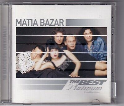 CD : Matia Bazar – The Best Platinum Collection