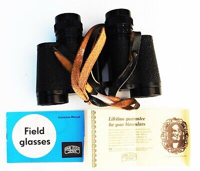CARL ZEISS Jenoptem 8x30W Multi Coated Binoculars.Case. Instructions . Guarantee