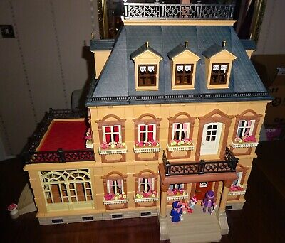 PLAYMOBIL VICTORIAN MANSION HOUSE 5300 AMAZING CONDITION 100% COMPLETE