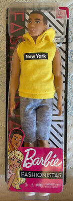 Barbie Fashionistas Ken AA Doll New York #131 New 2019 2020 collection