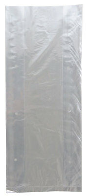 Produce Bag Plastic- Clear Unprinted Vented Produce Bags 6x3x15 - 0.80 Mil