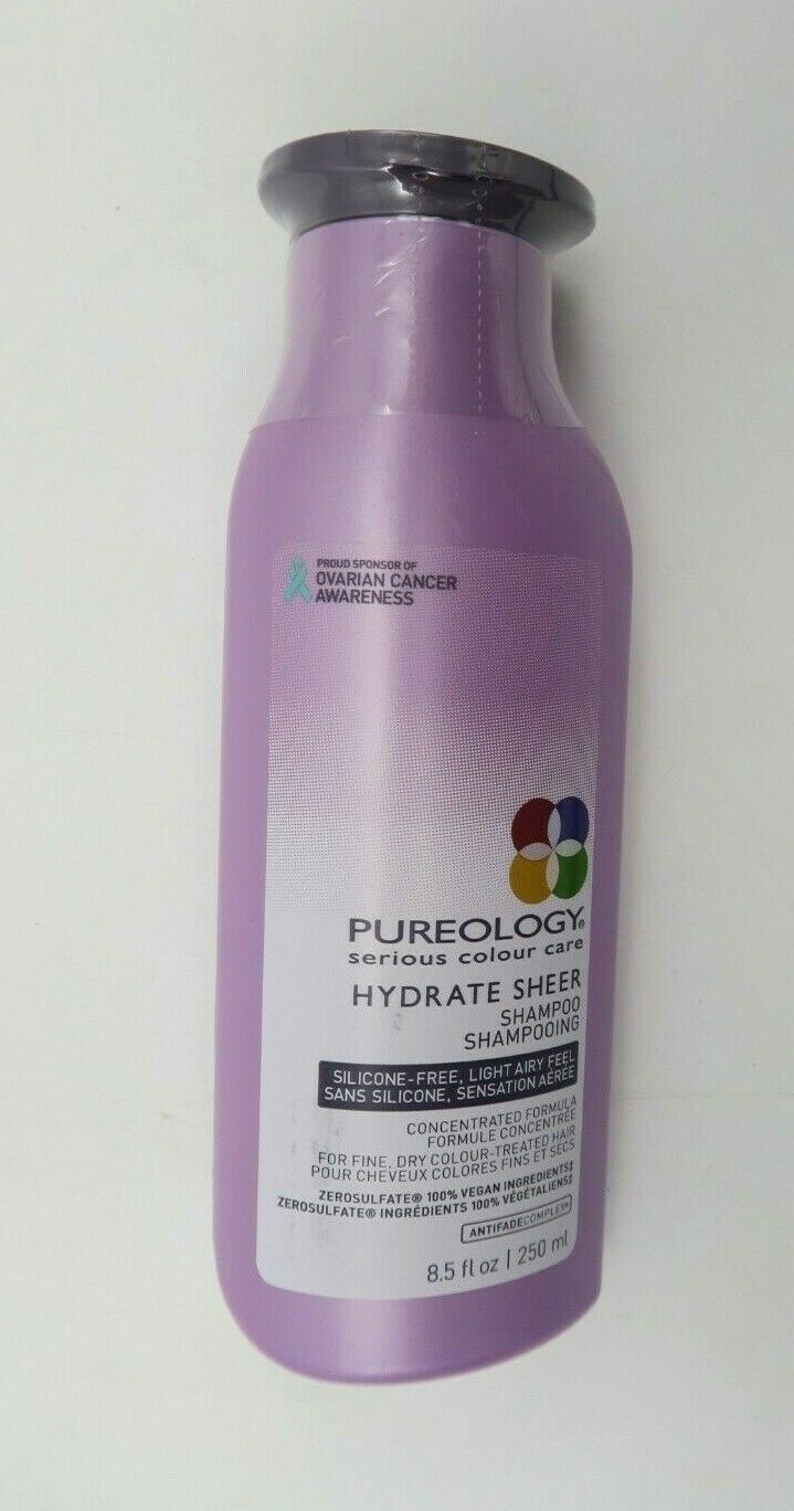 Pureology Hydrate Sheer Shampoo Conditioner 8.5 oz Duo Set S