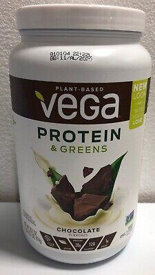 Vega Plant Based Protein and Greens, Chocolate 28.7oz Best By