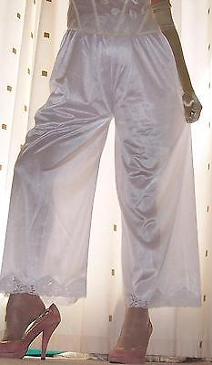 Lipstick red soft nylon trouser liners~pettipants~culottes~bloomer 20~22