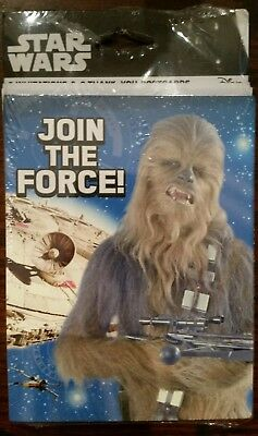 Star Wars Chewbacca Darth Vader Birthday Party Invitations Thank You Postcards Star Wars Birthday Invitations
