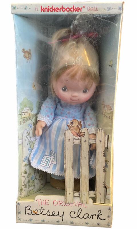 Knickerbocker the Original Betsey Clark Girl Doll Toy Hallmark Cards Vintage Nib