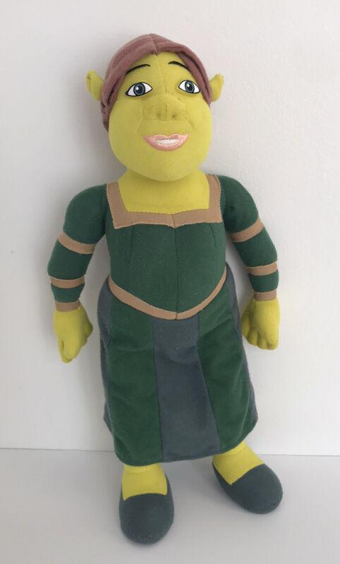 "2004 Shrek 2 Princess Fiona Ogre Plush Dreamworks Nanco Stuffed Animal Doll 16"""