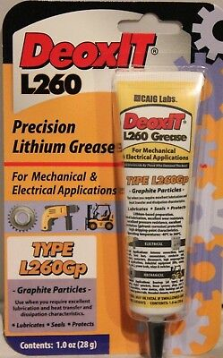 DeoxIT® L260Gp Grease with graphite particles 28g squeeze tube