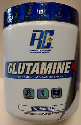 Ronnie Coleman Signature Series - GLUTAMINE XS - UNFLAVORED - FEB 2019