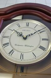 Wall clock with pendulum.SEIKO WESTMINSTER-WHITTINGTON.BRAND NEW.FROM SEIKO D-L.