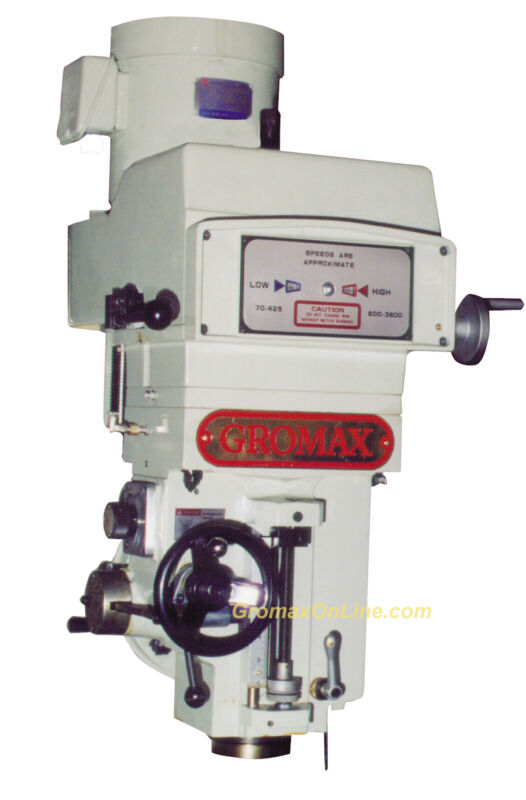 Mh-v400:  Variable Speed Milling Head