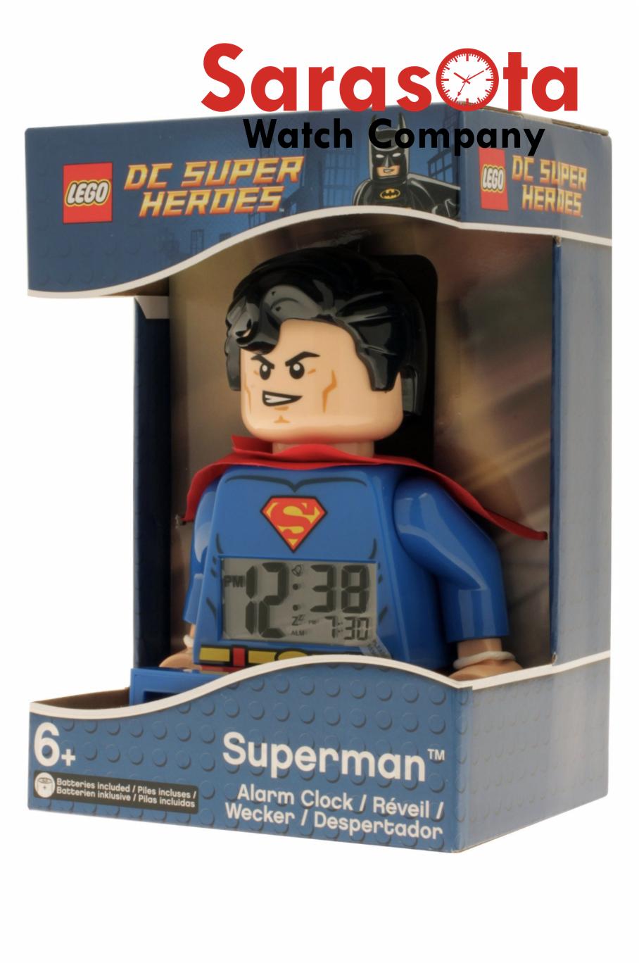 SUPERMAN w// Red Belt Minifigure ~ Lego ~ DC Super Heroes ~ MINT~