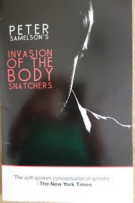 Peter Samelson,INVASION OF THE BODY SNATCHERS, neue DVD + Props