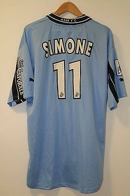 AS Monaco 2001-2002 Away Shirt XXL Puma Simeone #11