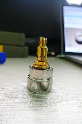 Apc-7 7mm To 3.5mm Sma Female Plug Dc To 26.5ghz Rf Adapter For Keysight Agilent