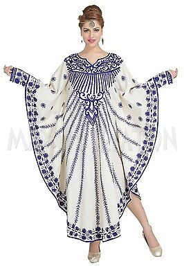 MODERN ABAYA FANCY MOROCCAN TAKCHITA ARABIAN KAFTAN DRESS WEDDING GOWN 6241