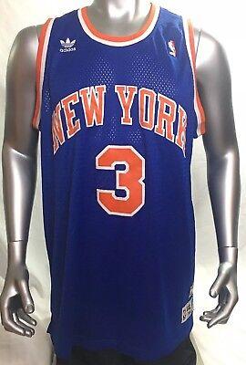 c94aa682b New York Knicks NBA John Starks Adidas 1990 Hardwood Classics Jersey XXL +2L