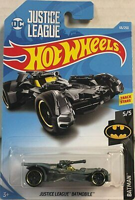 2019 Hot Wheels  Justice League Batmobile #66/250 [Black] Batman Series 5/5