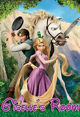 22x34 DISNEY MOVIE TANGLED CHARACTERS POSTER 15737