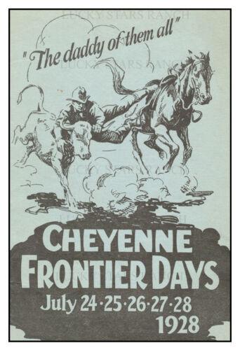 1928 Cheyenne Daddy of