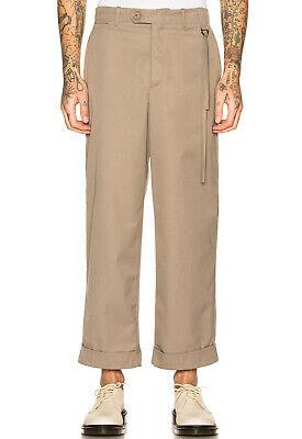 Lnwot Craig Green Uniform Trouser Beige Tassel Side Buckle Cuffed Pant XL $710