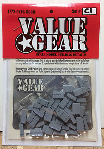 1-72-Scale-Resin-Wooden-Crates-Stowage-Set-C1-Value-Gear-Details