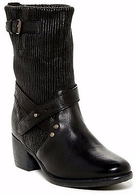 $395 NIB UGG Australia Cattania Gore Leather Shearling Lined Women's Boot Sz 6.5