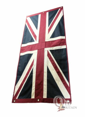 Large London Union Jack Eco Flag 76 x 151 cm | Sewn Cotton | Decoration Backdrop