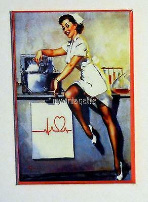 Vintage SEXY NURSE PIN-UP  2