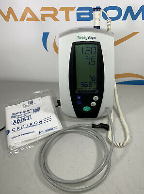 Welch Allyn 420 Series Spot Vital Signs Monitor Nibp Temp-works