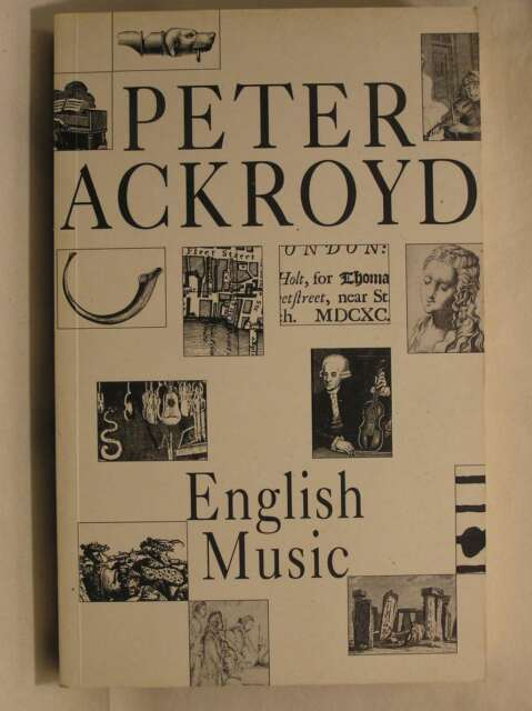 English Music, PETER ACKROYD, Very Good Book