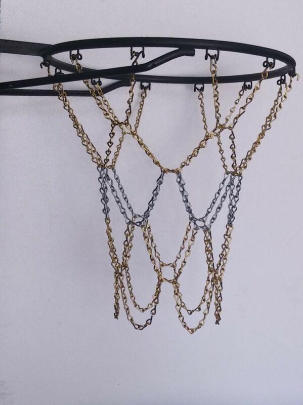 Basketball Chain Net New bright zinc and brass pltd steel