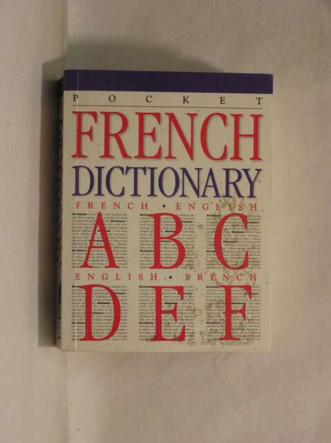 French Dictionary, Anon, Good Book