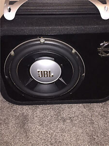 ^** 1200 WATTS RMS JBL SUBWOOFER IN PORTED BASSWORX BOX!