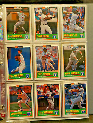 1993 DURACELL Baseball Stars Series 1 & 2 Complete Sets (24x2) in Binder Sleeves