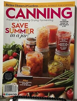 Better Homes & Gardens Canning Save Summer In A Jar Spec 2018 FREE SHIPPING JB](Garden In A Jar)