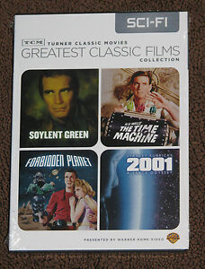 NEW TCM Greatest Classic Films Collection - Sci-Fi DVD - 4 Movies