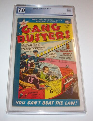 Gang Busters #32 - PGX FN/VF 7.0 - 1953 DC Golden Age issue