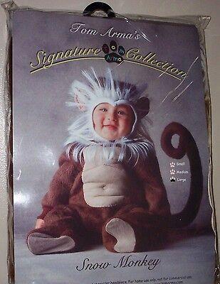 TOM ARMA INFANT HALLOWEEN SNOW MONKEY COSTUME 12-18 MONTHS MEDIUM BRAND NEW! ](Tom Arma Infant Halloween Costumes)