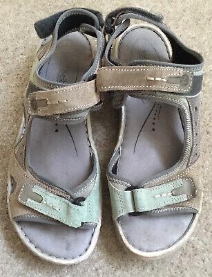 Josef Seibel Women's Walking Sandals with Three Adjustable Straps Size 6/39